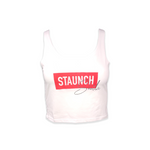 Staunch Sheila Cropped Tank [White]