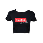 Staunch Sheila Cropped T [Black]