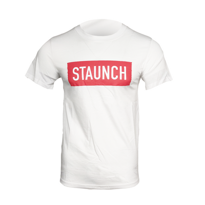STAUNCH OFFICIAL T SHIRT [WHITE]