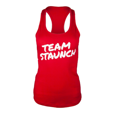 TEAM STAUNCH RACERBACK TANK [RED]