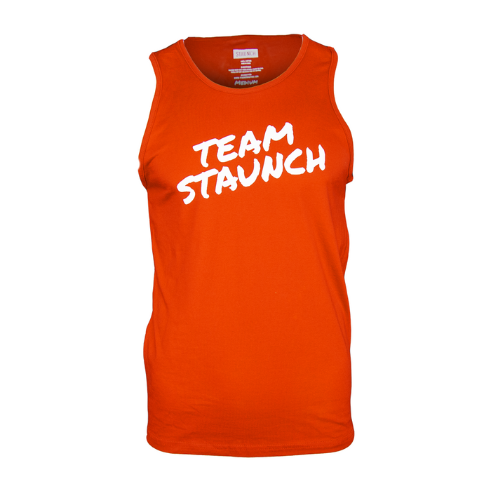 TEAM STAUNCH TANK [MENS] [RED]