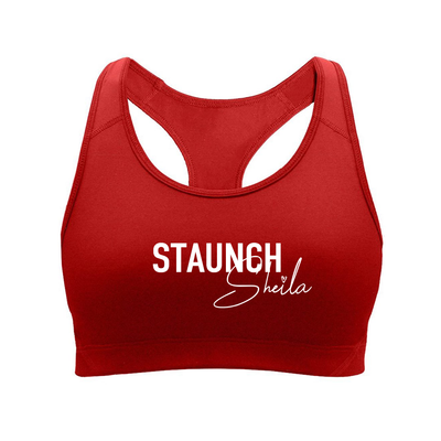 Staunch Sheila Sports Bra [Red]