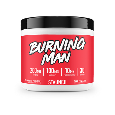 STAUNCH BURNING MAN POWDER