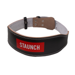 STAUNCH LEATHER WEIGHTLIFTING BELT