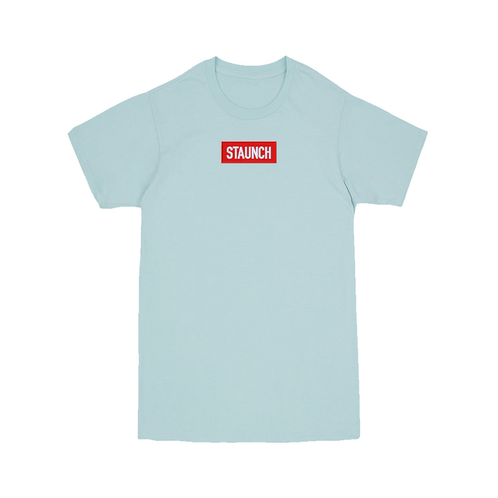 Staunch Embroidered Box Logo (Blue)