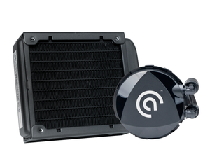 Asetek 645LT 92mm Performance Liquid CPU Cooler for SFF Cases