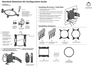 Intel 20XX Standard Retention Kit for Asetek Liquid Coolers
