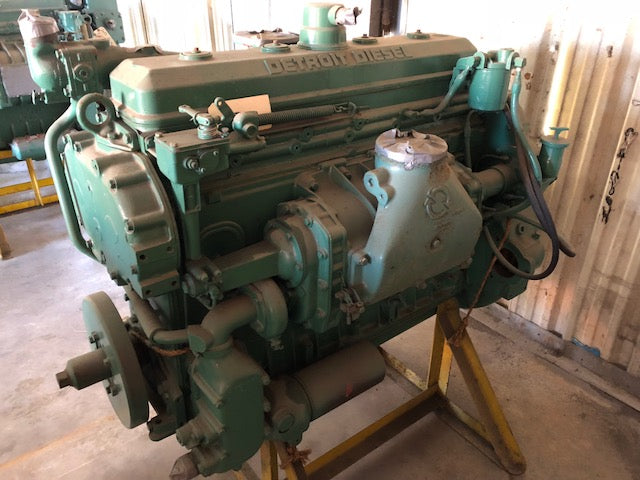 DETROIT DIESEL 671 ENGINE, RA, REBUILT / OUTRIGHT