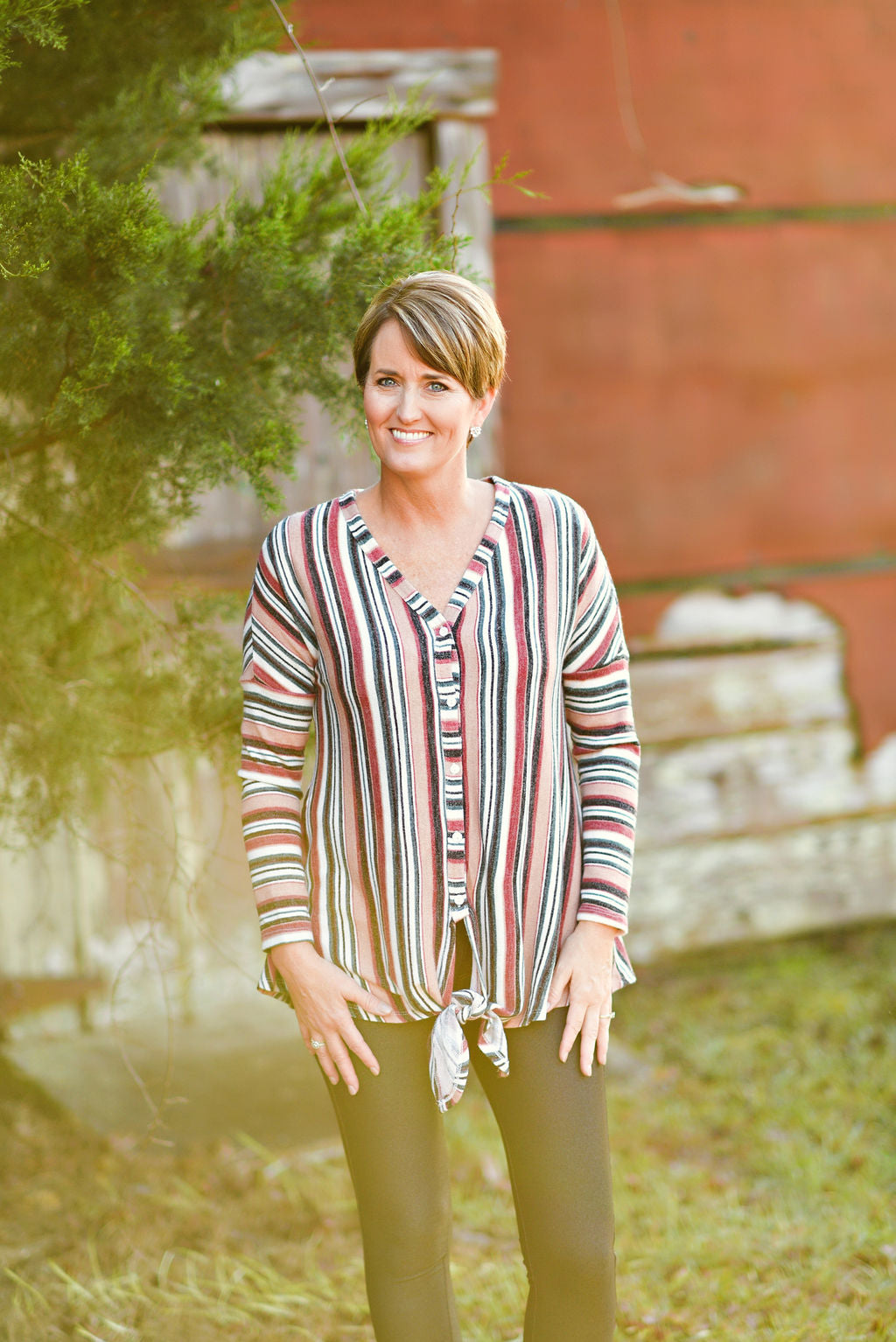 Fireside Stripe Cardigan