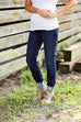 Eileen Fisher Cotton Stretch Denim Jegging