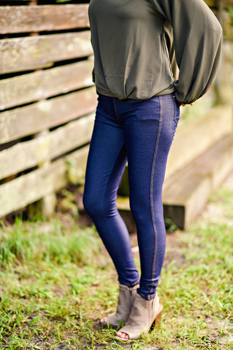 Nest Best Jegging in Dark Denim
