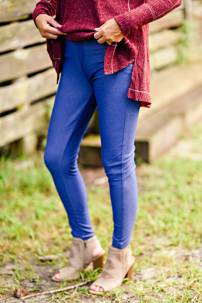 Nest Best Jegging in Denim Blue
