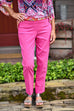 Renuar Cigarette Ankle Pant in Raspberry
