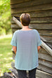 Eileen Fisher Organic Cotton Stripe Tee