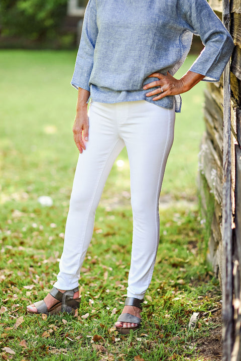 Eileen Fisher Jegging in White