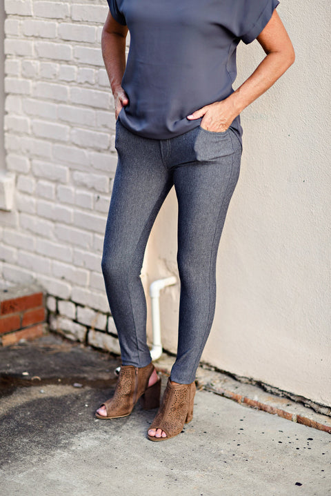 The Nest Best Jeggings in Grey