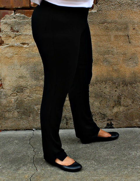 Comfy USA Narrow Pant in Black