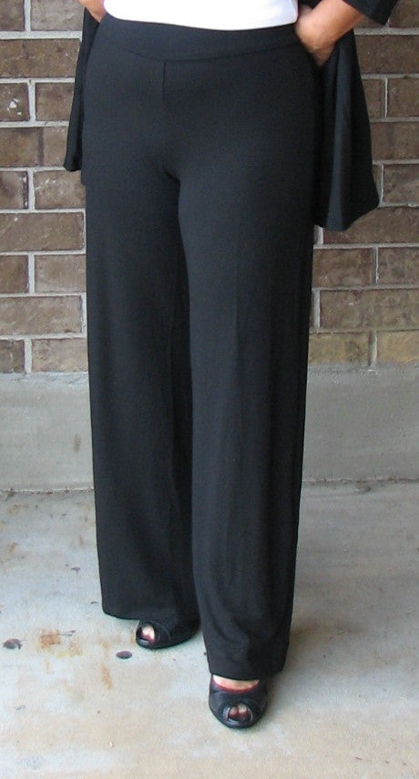 Flax In Motion Long Pant in Black