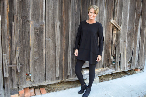 Sun Kim Isabel Tunic in Black