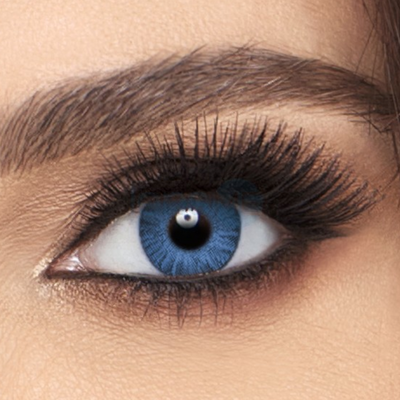 Freshlook Colorblends Brilliant Blue Contact Lenses - 2 pack (2 week wear)