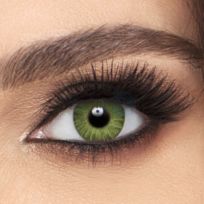 Freshlook Colorblends Gemstone Green Contact Lenses - 6 pack (2 week wear)