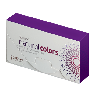 SOLFLEX Natural Colors Ocre (Monthly Lenses)