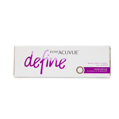 Acuvue Define Vivid Contact Lenses - 30 pack (1 day wear)
