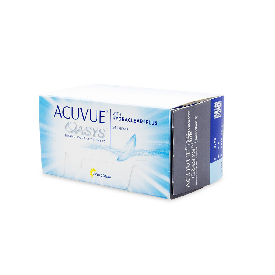 Acuvue Oasys With Hydraclear® Contact Lenses - 24 pack (2 week wear)