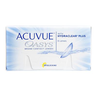 Acuvue Oasys With Hydraclear® Contact Lenses - 6 pack (2 week wear)