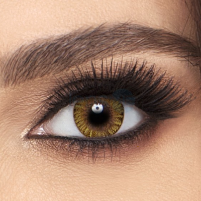 Freshlook Colorblends Pure Hazel Contact Lenses - 6 pack (2 week wear)