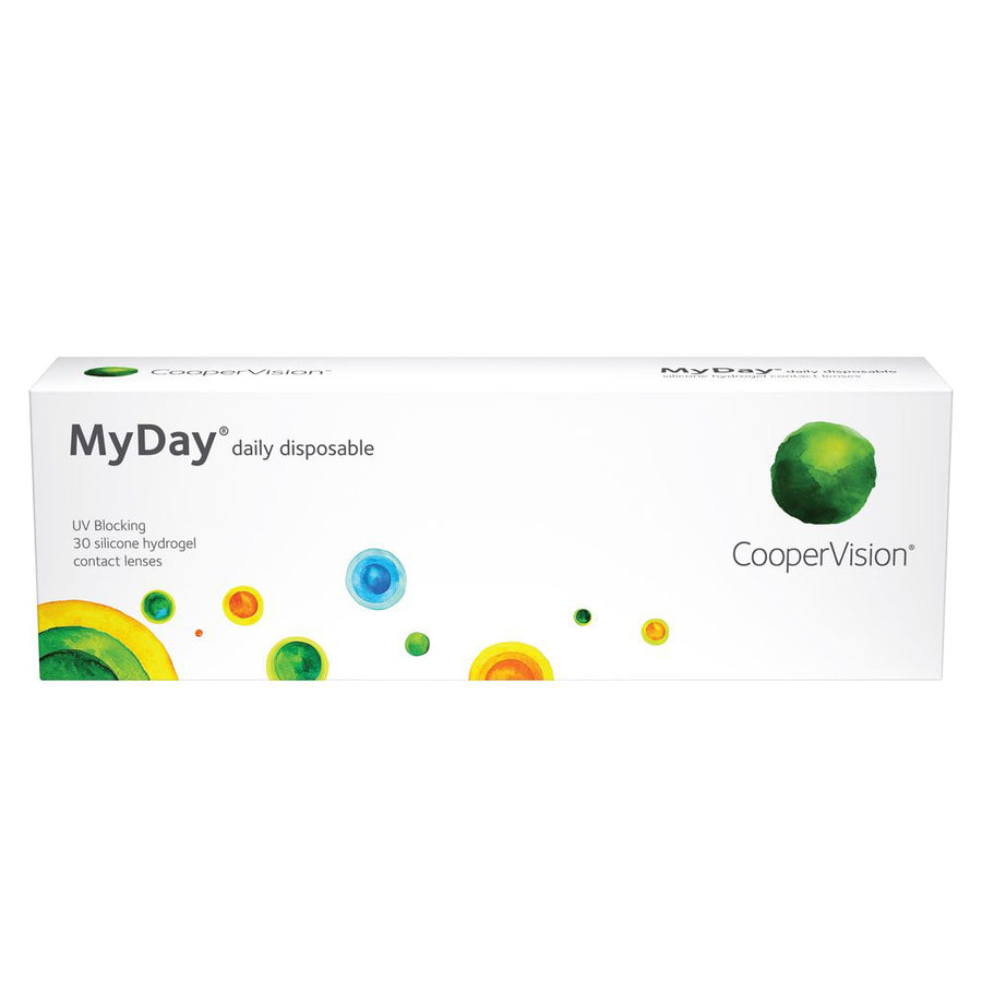 MyDay Daily Disposable Contact Lenses - 30 pack (1 day wear)