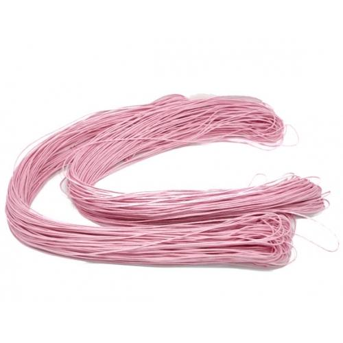 Beading Cord, Waxed Cotton Cord, 1.5mm, Light Pink. Sold Per Meter - BEADED CREATIONS