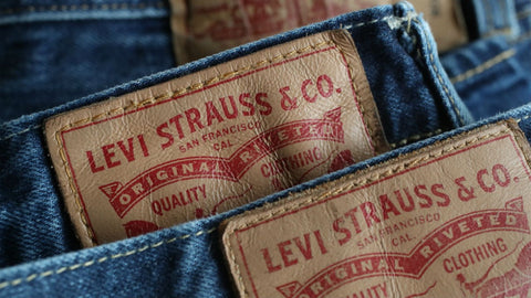 37ee11dc Today, it's used to identify style and sizing information and is no longer  made of leather. During the 1950's, with Lee® Cooper, Wrangler®, ...