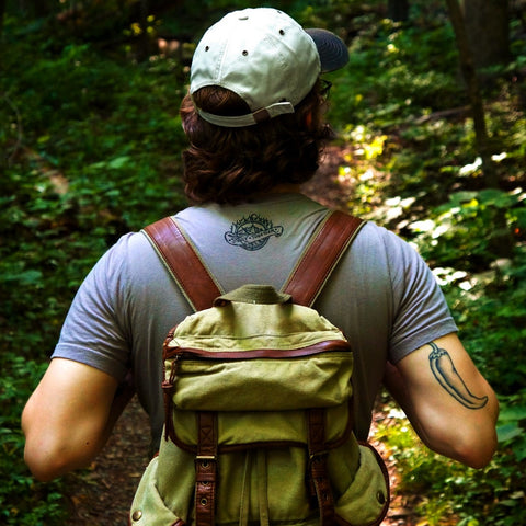 Backpack, Stray Together, American Reserve Clothing Co.