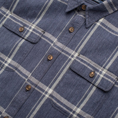 The Jepson Shirt -Blue Check