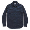 The Maritime Shirt Jacket -Sea Washed Indigo