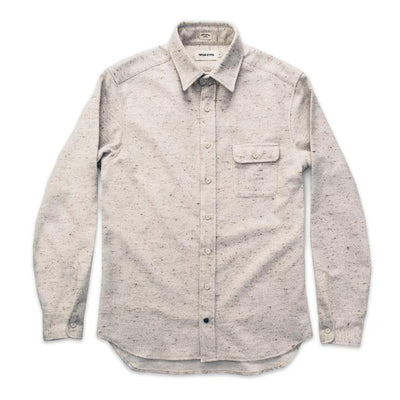 The Sun Down Shirt -Speckled Oatmeal