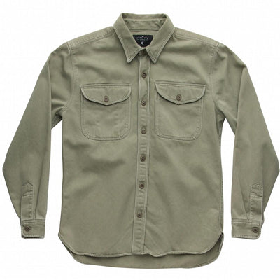 The Utility Shirt -Army Green