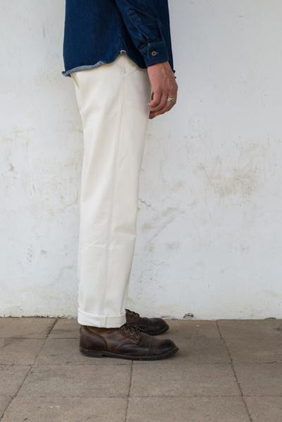 The Worker Chino -12 oz. Natural Denim