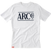 The ARC Tee -Dark Navy on White