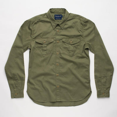 The Dayton Shirt - Cedar Green