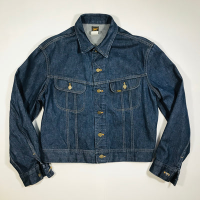 Vintage Lee® 1980s Dark Wash Trucker Jacket