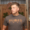 Rugged Soul Tee - Saddle Brown