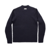 The Wave Sweater in Navy