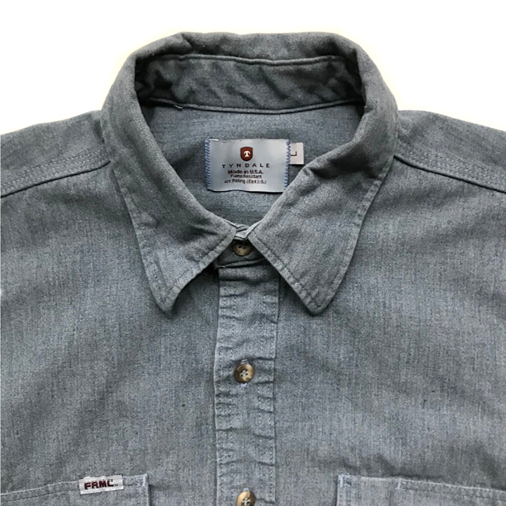 98ce668bdf84 Tyndale FRC Rustic Button Down Work Shirt