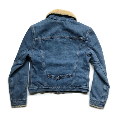 Light Wash Levi's Women's Sherpa Jacket