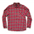 Quicksilver Red Flannel Shirt