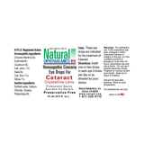 Cataract Eye Drops with Cineraria