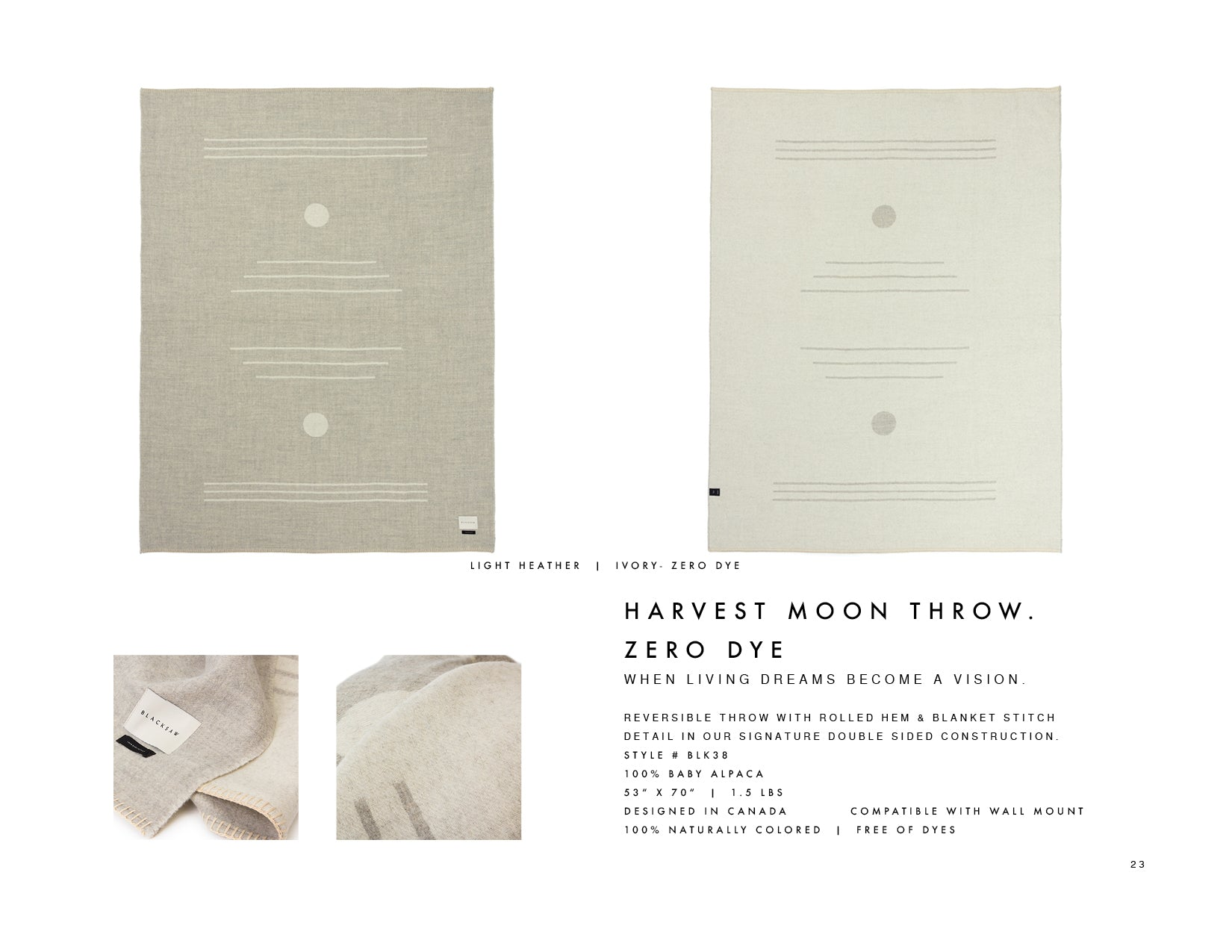 Blacksaw Harvest Moon Zero dye
