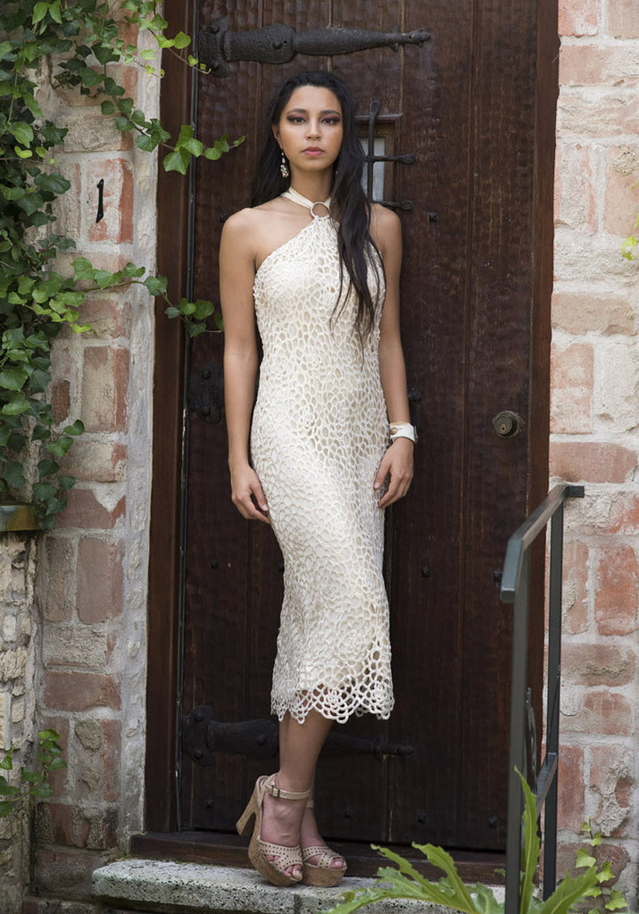 Guipure Lace Cocktail Dress